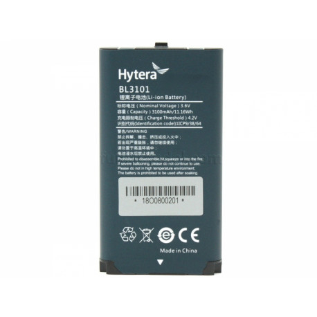Hytera batteri til PNC370 3100 Li-ion BL3101