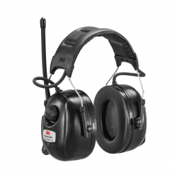 Peltor DAB+/FM radio sort hodebøyle