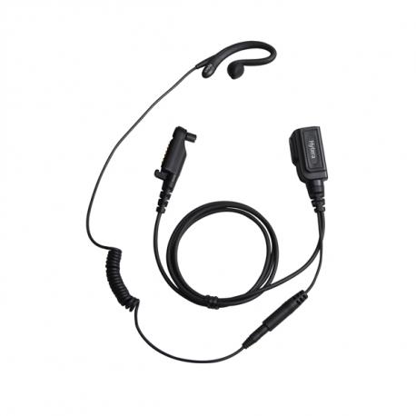 Hytera hodesett ørebøyle m/PTT og mic til X1-serien/PD6-serien EHN21