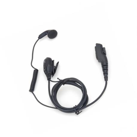 Hytera hodesett m/ørepropp og PTT til PD7/9-serien ESN12