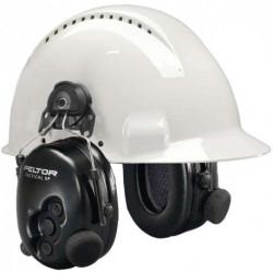 Peltor Tactical XP m/hjelmfeste og Nexsusplugg