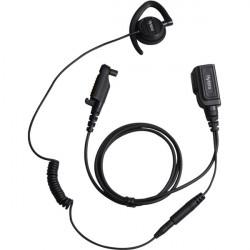 Hytera hodesett halvbøyle m/mic og PTT til PD6-/X1-serien IP54 EHN20