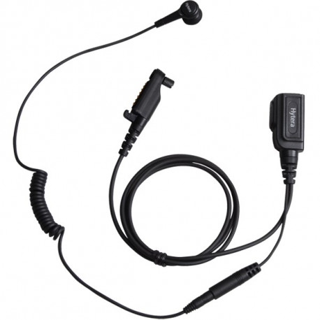 Hytera hodesett med PTT/ørepropp til PD6-/X1-serien ESN14
