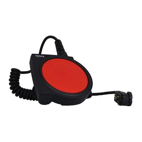 Hytera PTT stor til bruk sammen med strupemikrofon/hodemikrofon/øremikrofon POA66